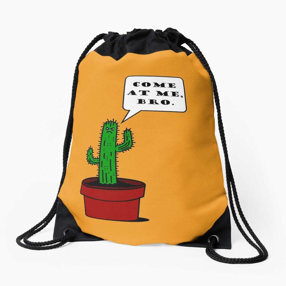 Komm zu mir, Bro! (Cactus Edition) Turnbeutel
