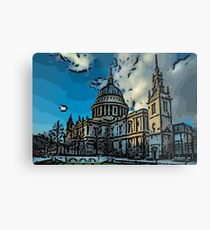 St Pauls, London Metal Print