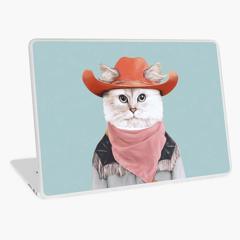 Rodeo Cat Laptop Skin