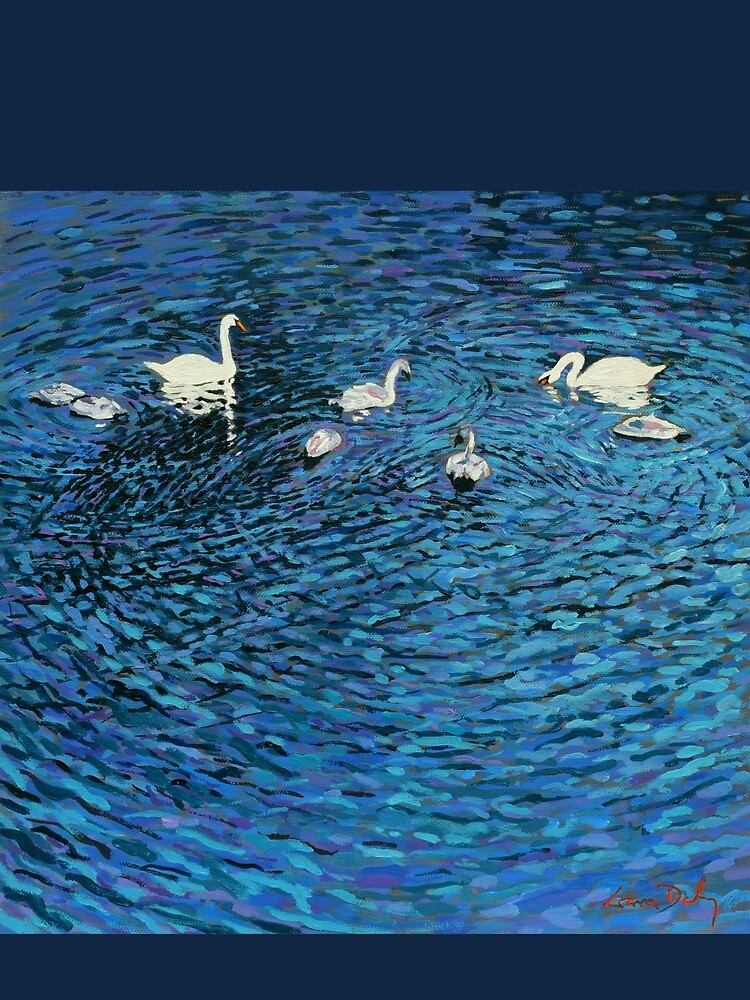 Swan Family by eolai