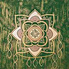 Leaf Prayer Mandala by FRANKEY CRAIG