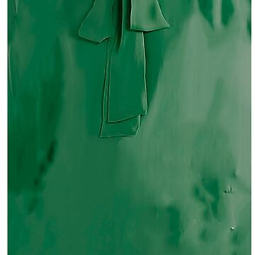 Green tie neck  by bywhacky
