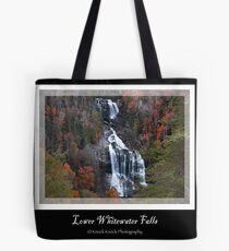 Lower Whitewater Falls Tote Bag