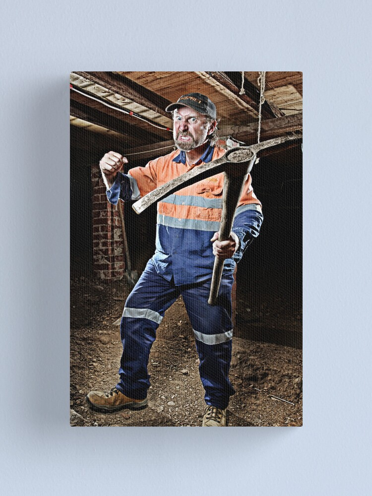 Alternate view of A Miner Incident! Canvas Print