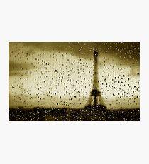 Otoño en París Photographic Print