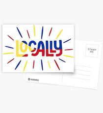 Örtlich Postkarten