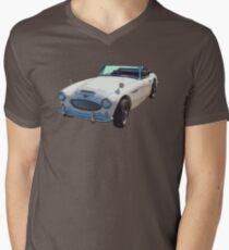 Austin Healey 300 Sports Car Men's V-Neck T-Shirt