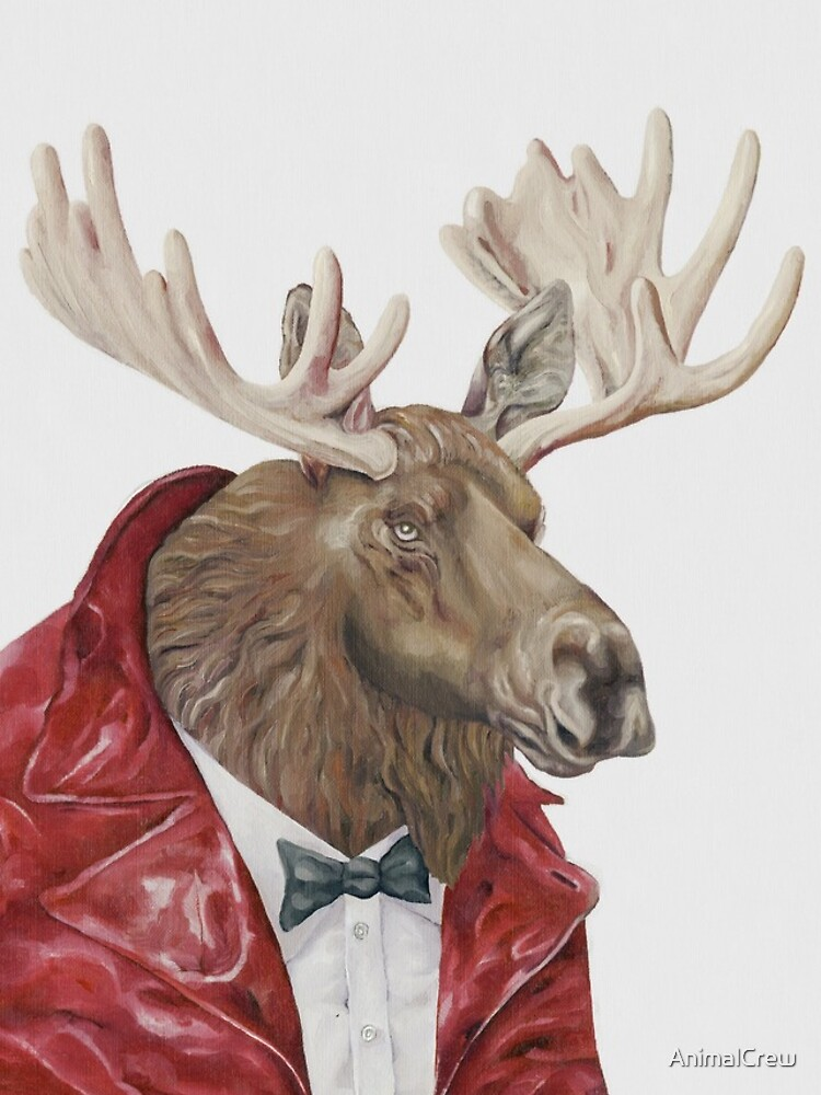 Moose in Leather by AnimalCrew
