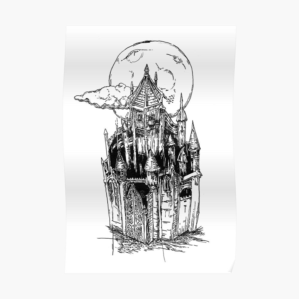 Castles EP Art - Lil Peep x Lil Tracy // OFFIZIELLE Kunstwerke von WavyBabe Poster
