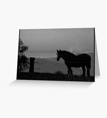 The best view in the world Greeting Card