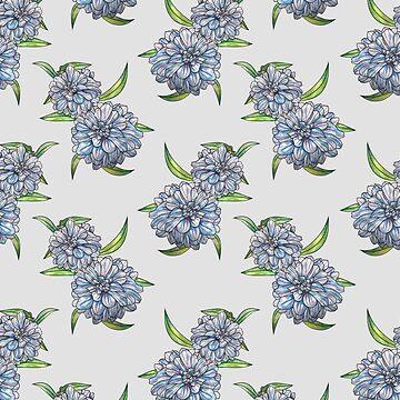 Floral pattern by mitalim