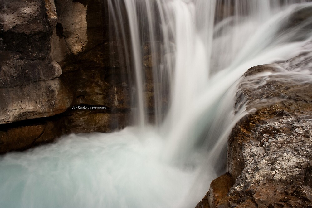 Catch Me If You Can - Elbow Falls by JR-photography