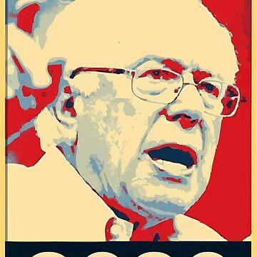 Bernie Sanders for president 2020 by verigud