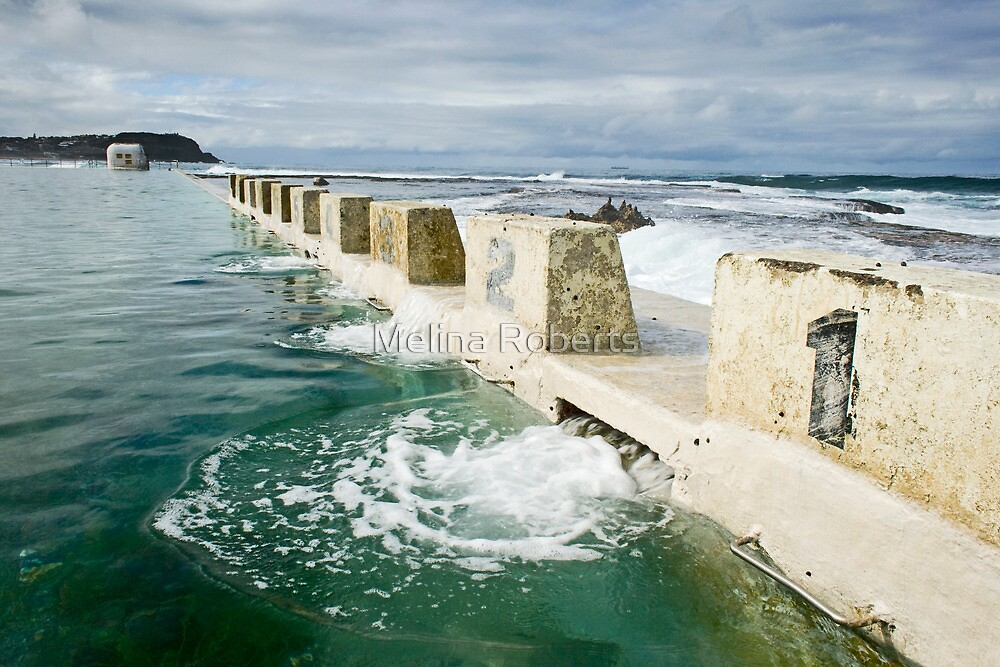 Merewether Baths by Melina Roberts