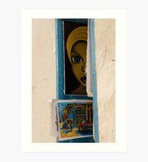 Cuban Art shop in Havana, Cuba Art Print