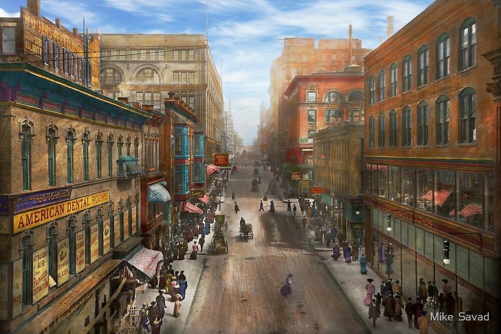 City - Kansas City MO - Petticoat Lane 1906 by Michael Savad