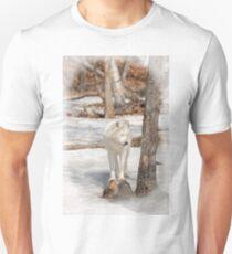 Arctic wolf -Parc Omega, Montebello, PQ T-Shirt