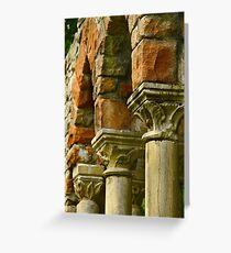 Arches - Mackenzie King Estates Greeting Card