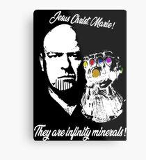 Infinity Mineralien Metallbild