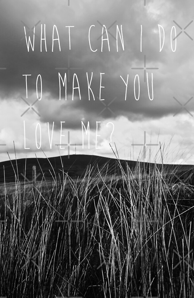 What Can I Do To Make You Love Me? by Denise Abé