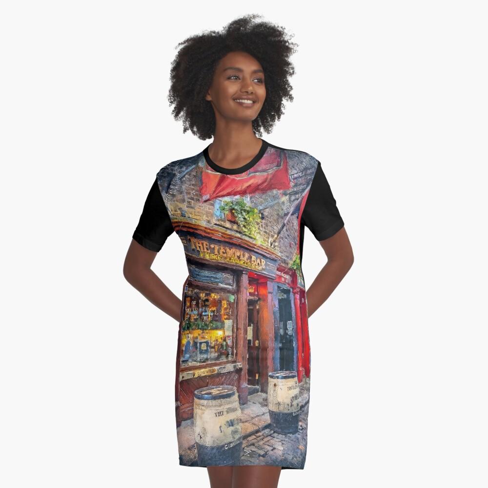 Dublin art #dublin Graphic T-Shirt Dress
