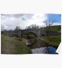 Bridge at Semerwater - Yorks Dales. Poster