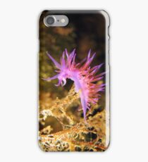 Mediterranean sea slug Flabellina affinis iPhone Case/Skin