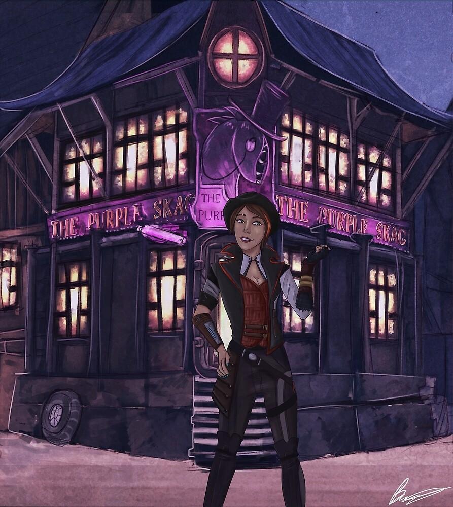 To the purple skag by MagicBroJohnson