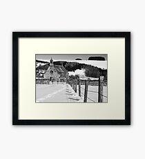 Cranshaw's Kirk Framed Print