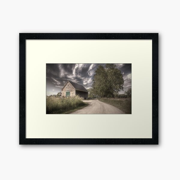 August Haze Framed Art Print