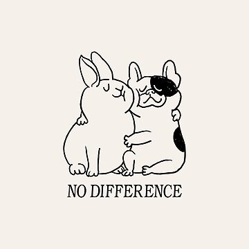 No Difference French Bulldog by Huebucket
