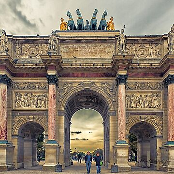 Arc-de-Triomphe du Carrousel - Paris by Photograph2u