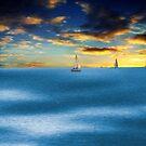 Twin Segelboote von TJ Baccari Photography