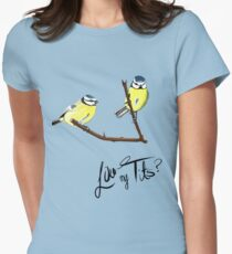 Nice Tits Women's Fitted T-Shirt