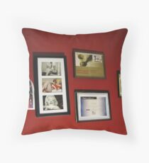 My Grandaughters Wall Throw Pillow