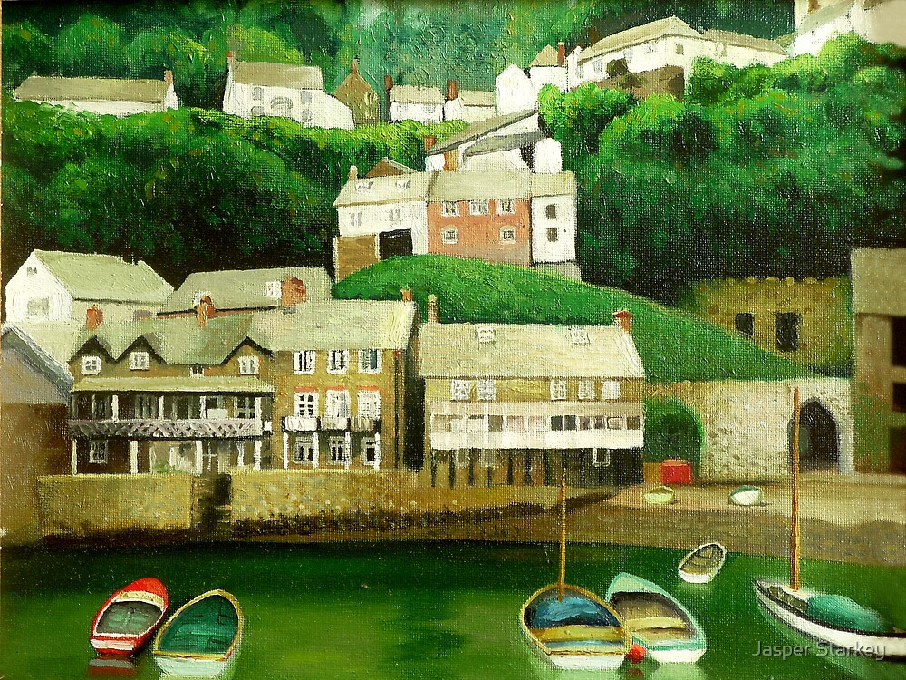 Clovelly 2 - An English Fishing Village  by BrightThing