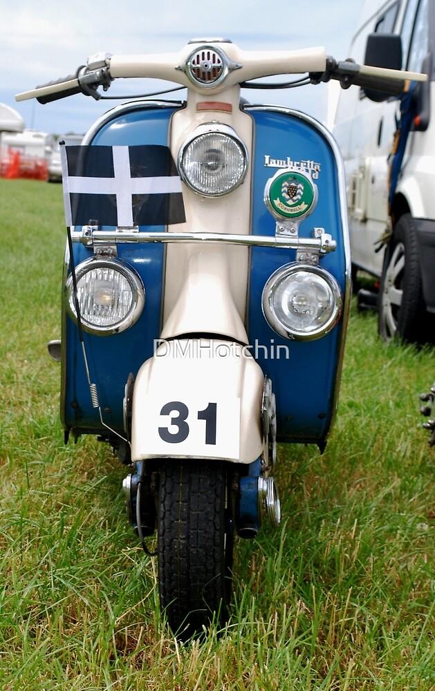 Lambretta at Padstow by DMHotchin
