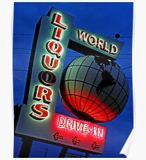 World Liquors Poster