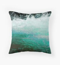 Cool and Clear Throw Pillow