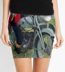Scarecrow on the Bike Mini Skirt
