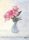 Pink Flowers For Mother's Day by Ken Powers