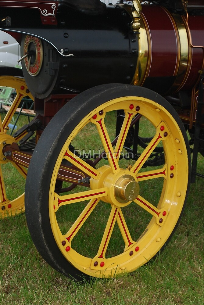 Traction Engine Front Wheel by DMHotchin