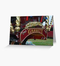 Garrett Steamer Greeting Card