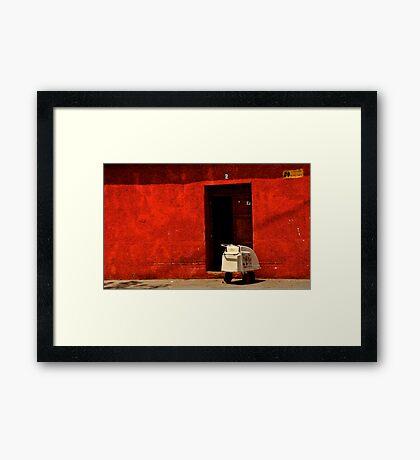 Home Delivery Framed Print