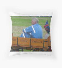 Kernow Steam Haulage Throw Pillow