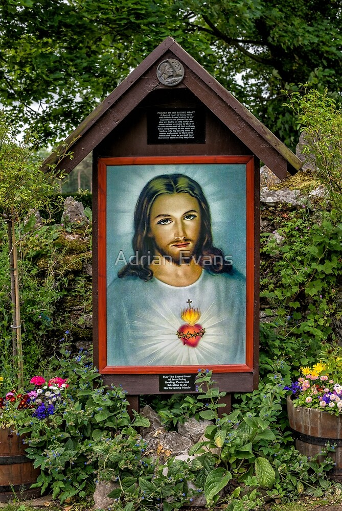Sacred Heart by Adrian Evans