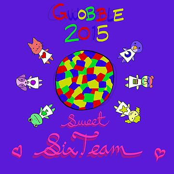 Gwobble 2015 Sweet Six Team by NesQuick