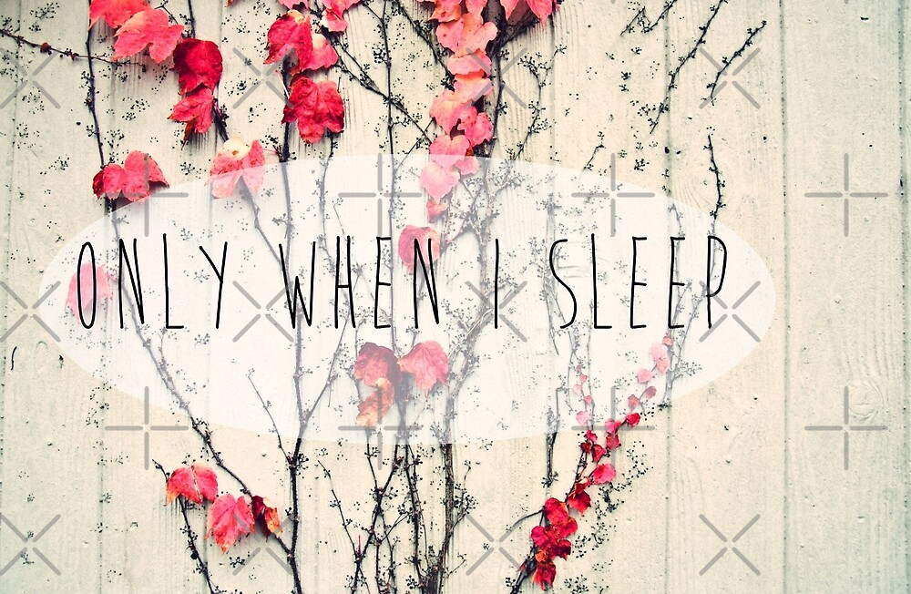 Only When I Sleep by Denise Abé