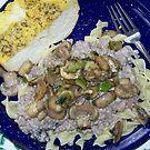 Fresh Mushroom Stroganoff by Betty  Town Duncan