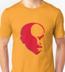Red Vladimir Ilich Lenin stencil silhuette Unisex T-Shirt
